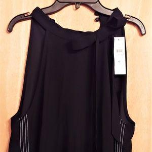Ann Taylor Bow Halter Dress Size 12